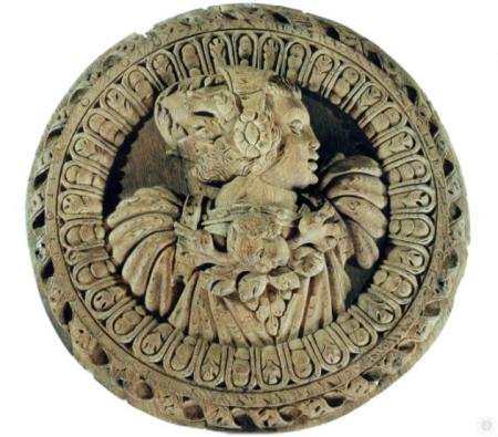 Stirling Head 20 - possibly one of the 9 Female Worthies